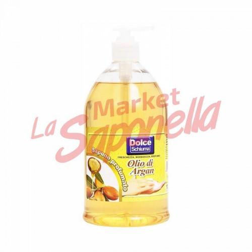 Sapun lichid pentru maini cu argan Dolce Schiuma – 1000 ml